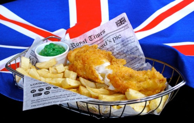 29. ¡Fish and Chips!